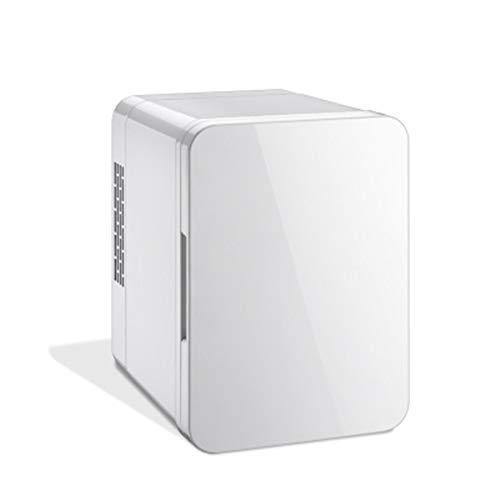 HANYF Mini Refrigerador Portátil De 4L De Capacidad, con Función De Frío Y Calor, Adecuado para Autocaravana, Oficina En Casa Y Dormitorio 12 / 24V DC