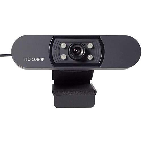 HD Webcam, Widescreen HD Video Calling HD Luce Correzione attenuazione di Rumore Mic, per Skype FaceTime Webex PC Laptop Tablet