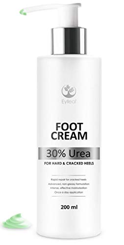Foot Cream 30% Urea by Eylleaf - Foot Care Treatment for Dry Skin Feet and...