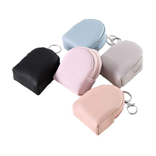Fully 3stk. Mini Geldbörse Beutel Portemonnaie ohne Straps Make-up Taschen mit Schlüsselanhänger Reißverschluss für Kinder Mädchen