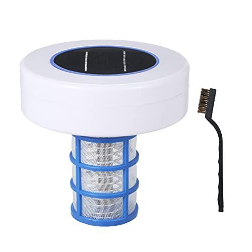 Kstyhome Purificateur de piscine à énergie solaire Ioniseur de piscine solaire Inhibition d'algues d'eau de piscine Processeur d'eau sans chlore