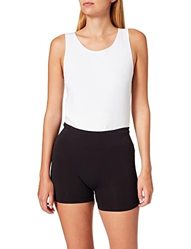 ONLY Damen ONLVICKY Seamless Mini Shorts NOOS Boxershorts, Black, M/L
