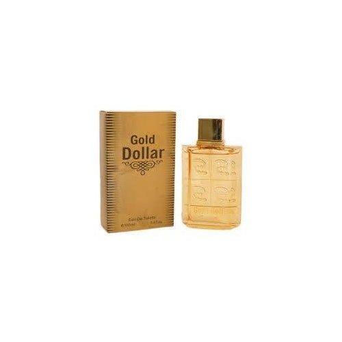 Safran pour homme Doré Dollar Parfum Vaporisateur d'eau de toilette Parfum