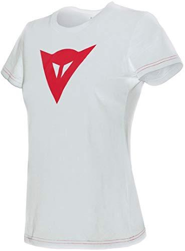 Dainese Demon T-Shirt dames Blanc/Rouge
