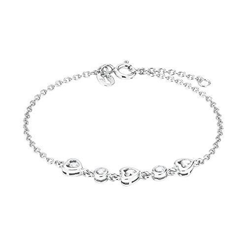 Amor Armband für Damen, Sterling Silber 925, Zirkonia