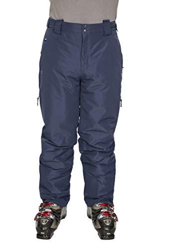 Trespass Roscrea skibroek voor heren, waterdichte skibroek met afneembare bretels, ritssluitingen, enkelzakken en zijventilatie