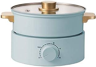 DYXYH Cuisinière électrique petit dortoir étudiant en pot multi-fonction bouillants et Frying Une maison Séparation type P...