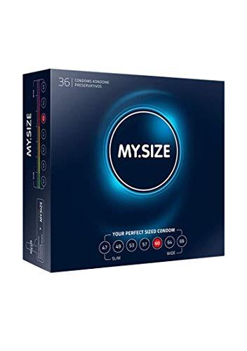 My.Size Kondome Größe 5, 60mm, Großpackung (36 Stück)