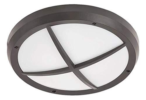 Rabalux 8050 A + + to E, extérieur Plafonnier ALVORADA, E27, anthracite, 30 x 30 x 10 cm