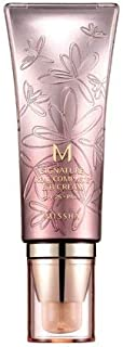 Missha M Signature Real Complete No.21 SPF 25/PA++ BB Cream, Light Pink Beige, 1.59 Ounce