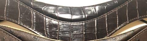 Oleg Fiesta Ergonomic Sax Straps Limited Edition (Brown Faux Crocodile Patterns)