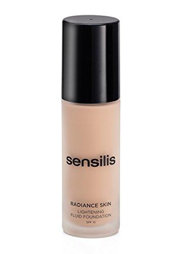 Sensilis Base Maquillaje Iluminador Fluido 03 Noix Spf 15-30 ml