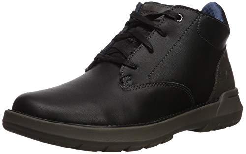 Skechers Men's DOVENO-MOLENS LACE UP Boot Hiking, Black, 10.5 Medium US