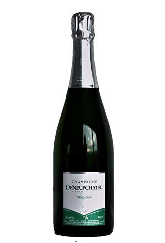 6 bouteilles - CHAMPAGNE BRUT TRADITION, 75cl,Maison Deneufchatel, PRODUCTEUR