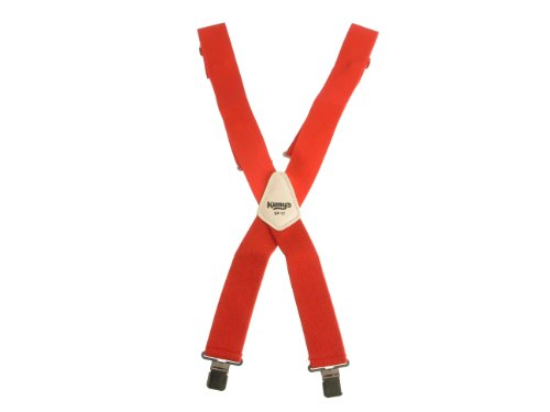 Kunys SP17R Red Braces 2-Inch Wide