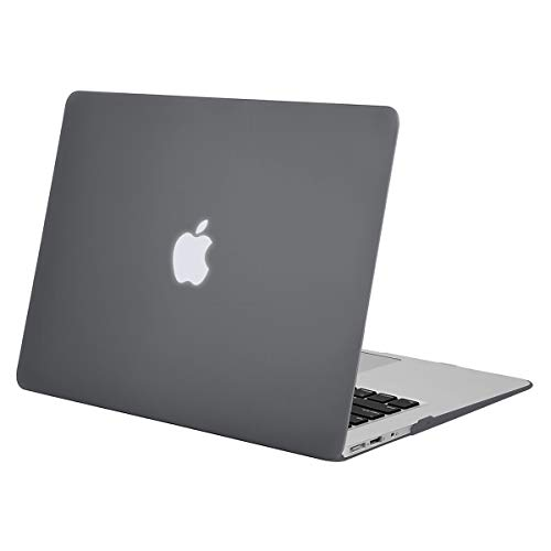MOSISO Hülle Kompatibel mit MacBook Air 11 Zoll - Ultra Slim Hochwertige Plastik Hartschale Schutzhülle Snap Case Kompatibel mit MacBook Air 11 (A1370 / A1465), Grau