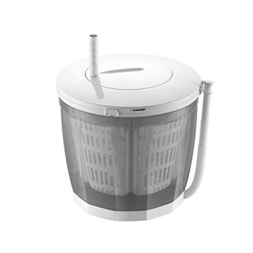 Waschmaschine Mini Dehydrator Handbetriebene Waschmaschine (Farbe : Gray)