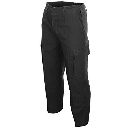 Pantalones molesquín prelavado negro - Negro, Negro, BW 13