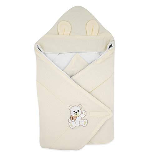 BlueberryShopThermo manta con capucha para envolver al bebé, Saco de dormir para...