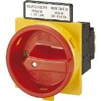 Interruptor principal empotrado/rojo/1S1Ö P3-63/EA/SVB/HI11, separador de potencia, Eaton (Moeller), P3-63/EA/SVB/HI11,4015080198918