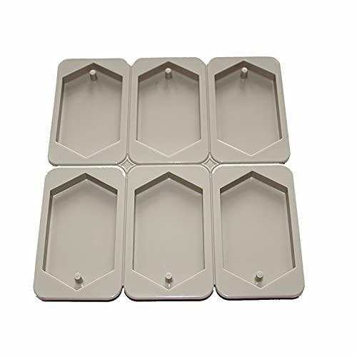 X-Haibei Hexagonal Aromatherapy Wax Plaster Crystal Epoxy Soap Silicone Mold Supplies