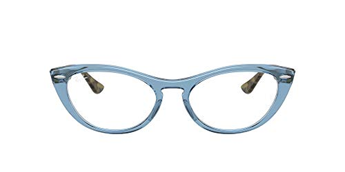 Ray-Ban 0rx4314v Gafas, LIGHT BLUE, 54 para Mujer