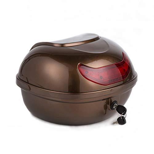 Creative LDF Universal Motorrad Top Box Helm Aufbewahrungskoffer, Motorrad GepäCk Aufbewahrungskoffer
