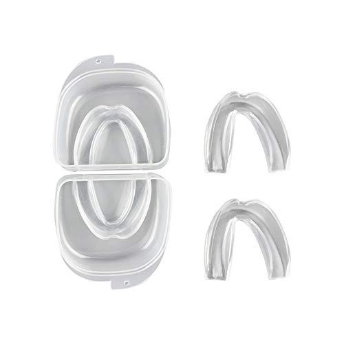 Anti-Schleifen Mundstück Zähne Schleifen Mundschutz, 4 x UK Design Zähne Schleifen Schutz Schlafhilfe Apnoe Relief Zähne Schutz