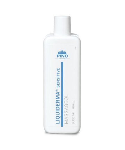PINO 35530 Liquiderma® Sensitive Massageöl 1.000 ml (Grundpreis 21,99 Euro/ 1 Liter)