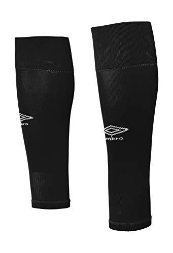 Umbro Herren Footless Sock Sportsocken, Schwarz (Black 060), One Size (Herstellergröße: Medium)
