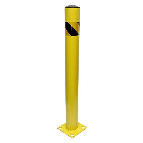 BISupply Parking Bollard – 42in Street Bollard Parking Post,...