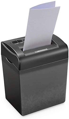 Buy Office Supplies Portable Shredder 4 Cross-Cut Paper Home Office Shredder with 4.5L Waste Paper C...