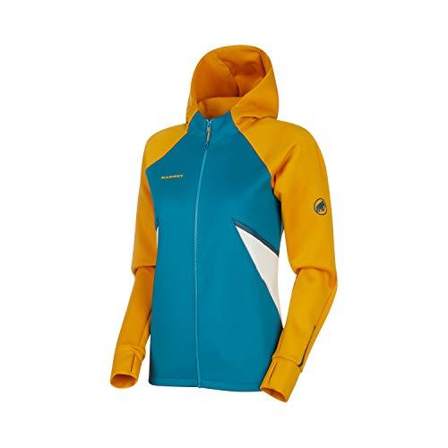 Mammut Damen Midlayer-Jacke mit Kapuze Avers Hooded, gelb, M