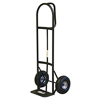 MILWAUKEE S 30019 800-Pound Capacity D-Handle Hand Truck with 10-Inch Pneumatic Tires