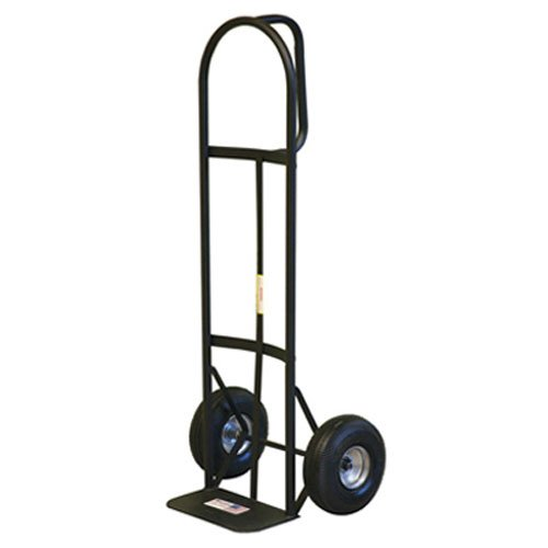 Milwaukee 30019 800-Pound Capacity D-Handle Hand Truck with 10-Inch Pneumatic Tires