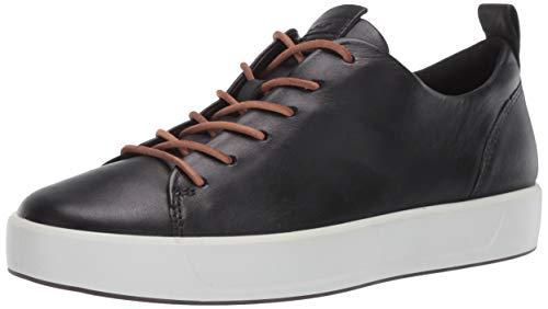 Ecco Herren SOFT8M Sneaker, Schwarz (Black 1001), 46 EU