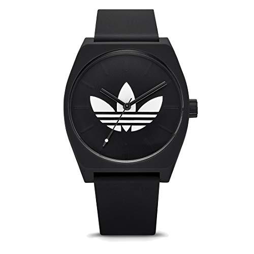 Adidas Unisex Analog Quarz Uhr mit Silikon Armband Z10-3261-00