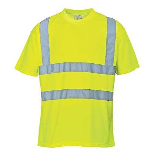 Portwest S478YER6XL T-shirt haute visibilité Jaune Taille XL