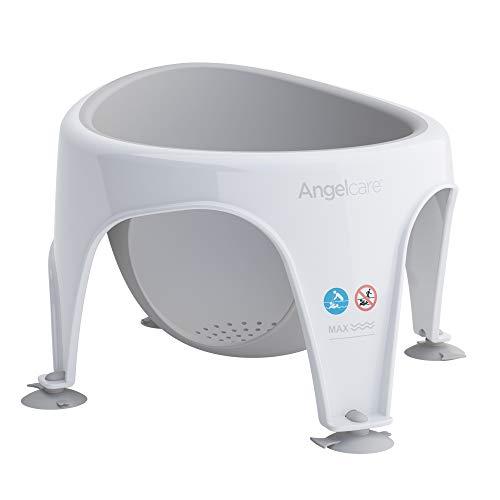 Angelcare - Anneau de Bain pour Bébé - Confort et Sécurité - 6 mois à 10 mois - Gris