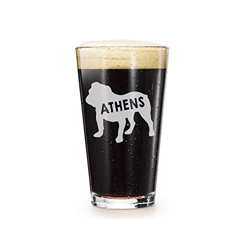 Verre à bière humoristique Athènes – Verre à bière – Cadeau de bière – Verre à bière – Verre à bière – Verre à bière gravé – Verre à bière – Verre à bière – Cadeau d'anniversaire de Noël