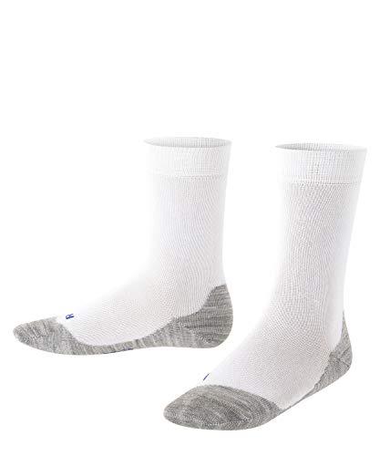 FALKE Unisex Kinder Active Sunny Days K SO Socken, Weiß (White 2000), 31-34