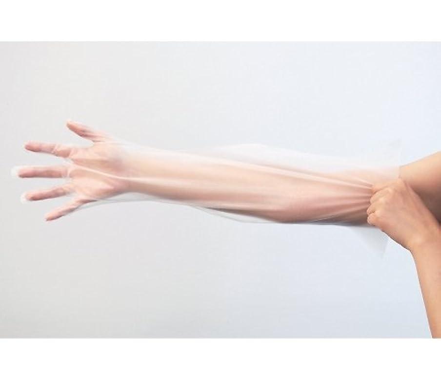 に応じてログぞっとするような竹虎8-6794-02ピレンワイプロング(ポリエチレン手袋)M