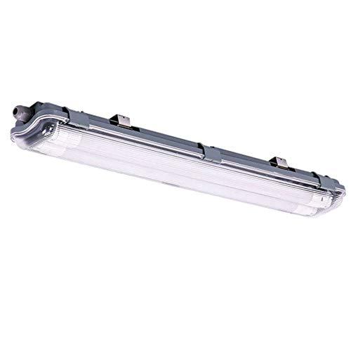 LED Wannen Leuchte Lager Hallen Garagen Decken Lampe Tageslicht Feucht Nass Raum Röhre V-TAC 6466