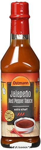 Ostmann Gewürze Jalapeño Würzsauce extra scharf, 4er Pack (4 x 104 g)