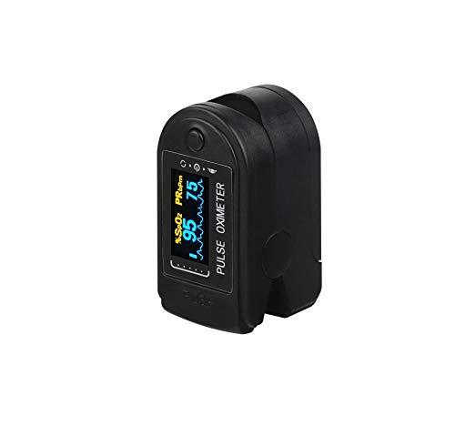 DishyKooker Finger Oximeter OLED Display Blood Oxygen Monitor Oximeter Oxygen Saturation Monitor black Quick response