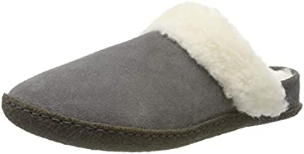 Sorel Women's Nakiska Slide II Slippers, Quarry/Natural, 7