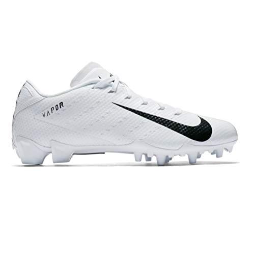 Nike New Vapor Untouchable Speed 3 TD Lacrosse/Football Cleat White/Black Sz 14M