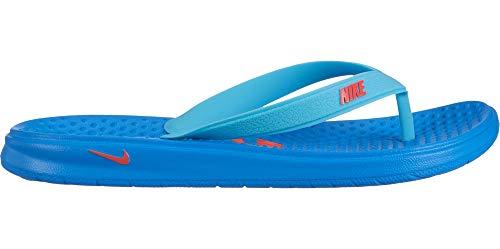 Nike Jungen Solay Thong (gs/ps) Dusch- & Badeschuhe, Mehrfarbig (Photo Blue/Bright Crimson/Blue Gaze 000), 31 EU