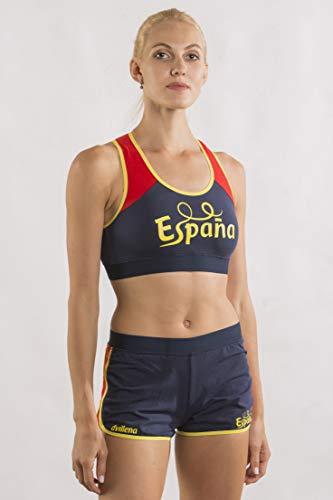 dvillena | Top Gimnasia España Mujer Espalda Nadador y Diseño Moderno |...