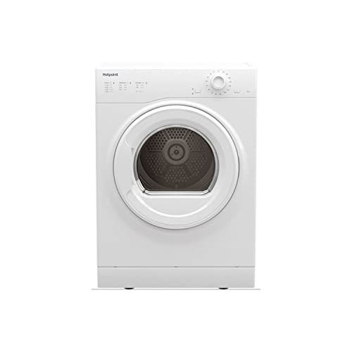 Hotpoint H1D80WUK Freestanding Air-vented Tumble Dryer in White